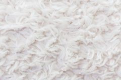White plush or wool texture Stock Image