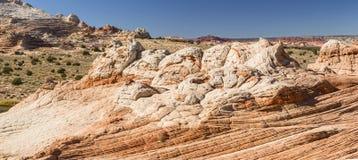 White Pocket Panorama Stock Photography