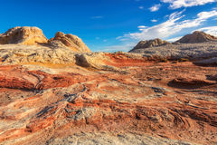 White Pocket on the Paria Plateau in Northern Arizona Stock Images