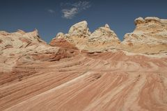Vermilion Cliffs National Monument, Coyote Buttes royalty free stock photography