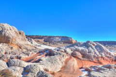 White Pocket-Vermillion Cliffs National Monument Royalty Free Stock Photos
