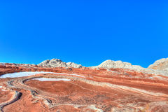 White Pocket-Vermillion Cliffs National Monument Royalty Free Stock Images