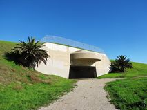 White Point Bunker. Abandoned military bunker at a park in California Royalty Free Stock Photo