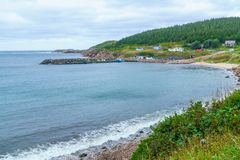 White Point, Cape Breton stock image