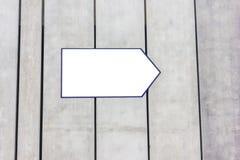 White pointer for text Royalty Free Stock Photos