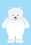White polar bear Royalty Free Stock Photo