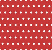 White polka dots Royalty Free Stock Photography