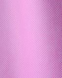 White polka dots on pink Stock Photos