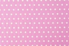 Free White Polkadot With Pink Background Stock Photo - 79037150