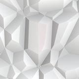 White polygon Stock Photography