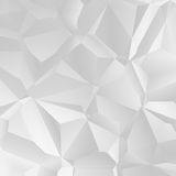 White polygon royalty free illustration