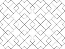 White polygon pattern on white background. Repeat geometric pattern background vector stock illustration