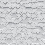 White polygons background with wireframe. Line Royalty Free Stock Photos