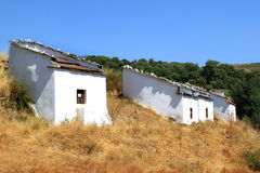 White pombais traditional in the north of Portugal