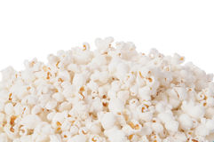 White popcorn background Royalty Free Stock Image