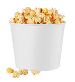 White popcorn box Royalty Free Stock Photos