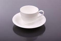 White porcelain cup Stock Image