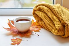 A cup of strong black tea Royalty Free Stock Photography