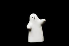 White porcelain figurine Stock Photos