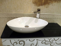 White porcelain washstand Stock Photography