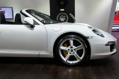 White Porsche 911 Carrera S Stock Photos