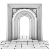 White portal Stock Photo