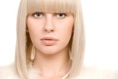 White portrait Stock Photos