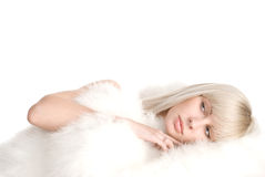 White portrait Royalty Free Stock Photography