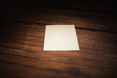 A White post it note Royalty Free Stock Images