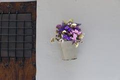 White pot Royalty Free Stock Photo