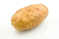White Potato  Stock Photography