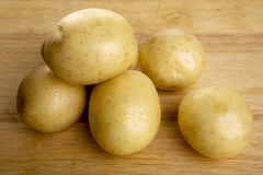 White Potatoes Royalty Free Stock Photos