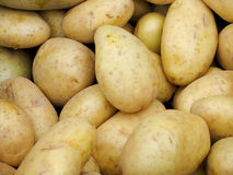 White potatoes Stock Photo