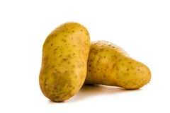 White potatoes Royalty Free Stock Photo