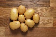 White potatoes Royalty Free Stock Image