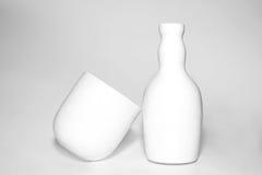 White Pottery Royalty Free Stock Photos