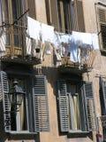white pralni Zdjęcia Royalty Free