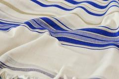 White Prayer Shawl - Tallit, jewish religious symbol Stock Photography