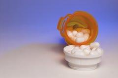 White Prescription Pills Stock Images