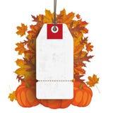 White Price Sticker Thanksgiving Sale Stock Photo