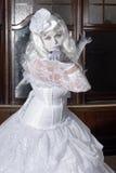 The White Princess Royalty Free Stock Photos