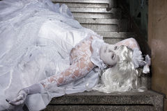 The White Princess Royalty Free Stock Image