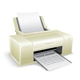 White printer Stock Image