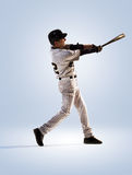 on white professional baseball player Stock Photos