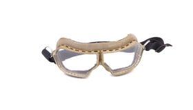 White protective glasses. Royalty Free Stock Photos