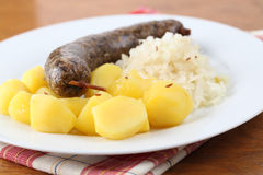 White pudding Stock Photography