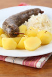 White pudding Royalty Free Stock Photos