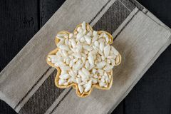 White puffed rice Royalty Free Stock Photography