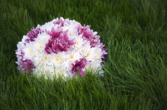 White an purple flowers ball Royalty Free Stock Photography