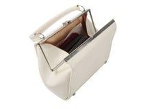 White purse Royalty Free Stock Photo